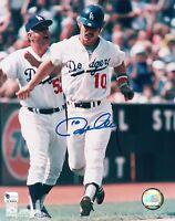 "Los Angeles Dodgers Ron Cey 8x10 photo ""It's A Gran Slam Homerun"" w/ Lasorda COA"