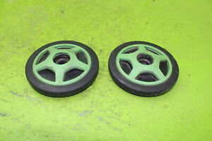 ARCTIC CAT OEM TRACK IDLER WHEEL REAR AXLE OUTER PAIR 0604-980 SA69