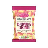 Crillys Rhubarb & Custard (160g) British Sweets/Candy