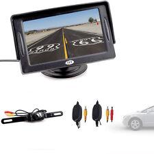 "4.3"" TFT LCD Car Rear View Backup Visor Monitor+Wireless IR Camera System"