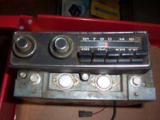MOPAR 1972 72 FURY AM FM RADIO IN WORKING CONDITION