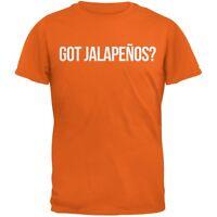 Cinco de Mayo - Got Jalapenos? Orange Adult T-Shirt