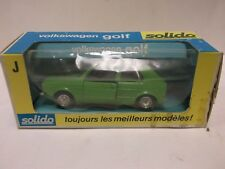 Solido No.19 Vokswagen Golf In Green 1:43 Scale