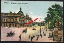 Berlin-Zeughaus unter den Linden-Landwehr Regiment 4-Juditten--Feldpost-1915