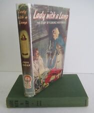 LADY WITH A LAMP Story of Florence Nightingale by Cyril Davey, 1957 in DJ