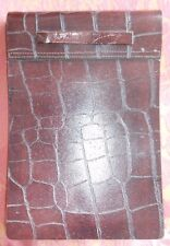 Culinary Concepts Leather Bound Note Book