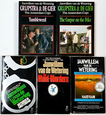 Janwillem Van De Wetering lot 5 Amsterdam mystery: Outsider in Amsterdam & 4 mor