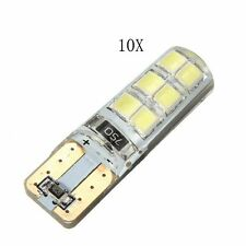 10x T10 194 W5W COB 2835 SMD LED Car CANBUS Error Free License Light Bulb White