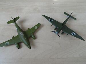 2 x German Military Aeroplanes slightly A/F