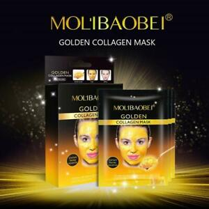 24k Gold Collagen PACK OF 10 Peel-off Facial Mask Anti-Aging