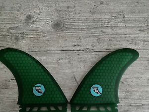 Cardiff Fin Co - MR Twin Fin Set Honeycomb HC - Futures Base