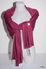Vêtement Femme - étole / écharpe PALME 32982 Unis Rose Foncé (violet parme) NEUF