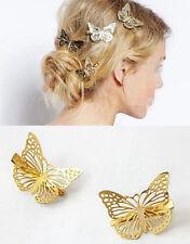 4PCS Beautiful Butterfly Hair Clips Girls Pin Hairpins Fashion Hair Accessories