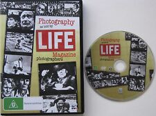 PHOTOGRAPHY AS TOLD BY LIFE MAGAZINE PHOTOGRAPHERS....ALL REGION PAL DVD
