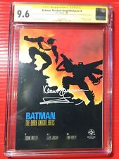 Batman: The Dark Knight Returns #4 CGC SS Miller & Janson 35th Anniversary 9.6!