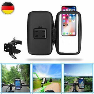 """Fahrrad Halterung Handy f. Smartphone Bike Tasche Motorrad Halter Universal 5.5"""""""