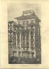 1905 Artisan Dwellings In Paris, Adolphe Rey View Of Pavilion