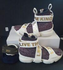 1e7290c8de Lebron XV Lif Basketball Shoes KITH Stained Glass Ao1068-900 Men s Size 10