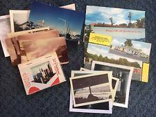 Vintage Photo Lot Postcards Sepia Black And White Photos