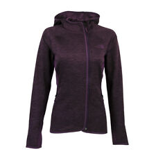 The North Face Women's Arcata Full Zip Hoodie Blackberry Wine Heather 2XL