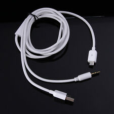 3.5mm Car AUX Stereo Audio Micro USB Charger Cable For Samsung Galaxy S4 S3 HTC