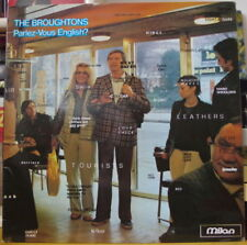 THE BROUGHTONS PARLEZ-VOUS ENGLISH ? FRENCH LP MILAN RECORDS 1979
