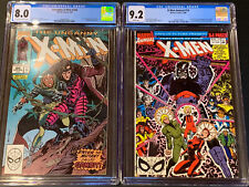 UNCANNY X-MEN Annual #14 CGC 9.2 AND #266 CGC 8.0 - First Appearance of GAMBIT