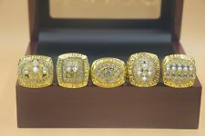 5pc 1994 1989 1988 1984 1981 San Francisco 49ers Championship Ring --