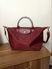 Longchamp Le Pliage Neo Medium Handbag Wine 1515578009 Authentic