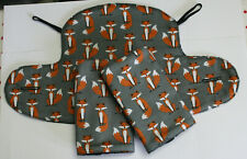 ERGO 360 ADAPT/OMNI BABY CARRIER SUCK/TEETHING PADS & DRIBBLE BIB SET. Fab. Fox.