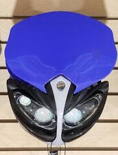 12V Universal Front Light Fairing for Motorcycle Dirt Bike Headlight BLUE-G