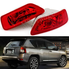 2X Left Right Fog Light Tail Bumper Lamp For Jeep Compass Dodge Journey 2011-16