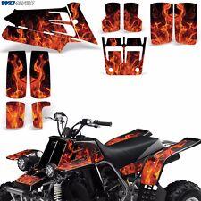 Decal Graphic Kit Yamaha Banshee 350 ATV Quad Decal Wrap Parts Deco 87-05 ICE O