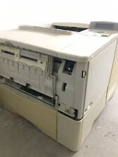 HP LaserJet 4100N C8050A Laser Workgroup Printer Page Count<700K SEE NOTES