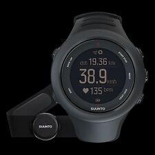 Suunto Ambit3 Sport Black HR mit Smart Sensor GPS Uhr Laufen Radfahren Schwimmen