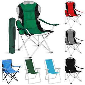 Folding Portable Camping Chairs Picnic Fishing Garden Deck Chairs Outdoor Beach