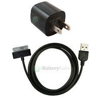 USB Black Home Wall Charger+Data Sync Cord for Apple iPhone 2G 3 3G 3GS 4 4G 4S