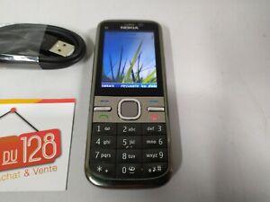 Téléphone portable Nokia C5 - C5-00.2 - SFR - Fonctionne