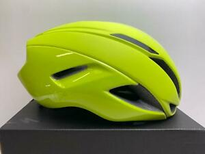 new Specialized S-Works EVADE II MIPS w/ ANGI bicycle helmet Hyper Green MEDIUM