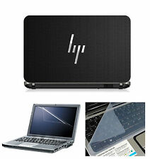Laptop Skin HP Net with Screen Guard and Key Board Protector (3in1 Combo) 15.6""