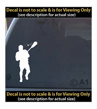 lacrosse player 6 inch decal 4 car truck home laptop fun more SPT_60