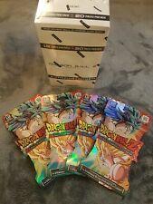 DRAGON BALL Z DBZ vengance PANINI blister packs  x4 packs