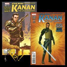 Star Wars KANAN #2 and #3 REBELS TV Show VARIANT SET Marvel Comics 1st Prints NM