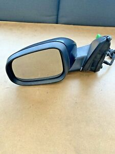 2011-2017 Volvo S60 Mirror Assembly Left Driver Solid Black 019 13 Wire OEM