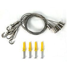 Aufhängeset für LED Panel Befestigungsmaterial Montageset Schlinge Zubehörteil