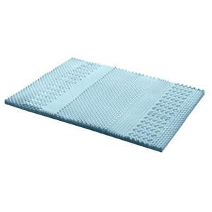 7 Zone Visco Memory Foam Mattress Topper - 5cm or 8cm - King Queen Double Single
