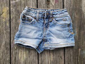 Justice ~ Girls Denim Jean Shorts ~ Size 6 Slim