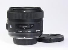SIGMA Art 30mm / 1:1.4 DC, für Nikon F, mit Autofokus, 1 Jahr Gewährleistung