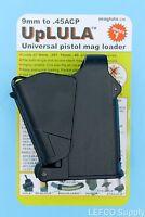 GENUINE Maglula UpLULA Pistol Magazine Speed Loader Unloader 9mm - .45ACP LULA
