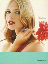 2007 Magazine Jewelry Advertisement for Tiffany, Paloma Picasso  032014